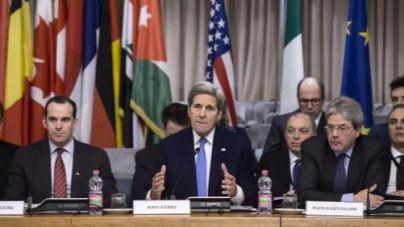 Roma acoge una cumbre internacional contra el Estado Islámico