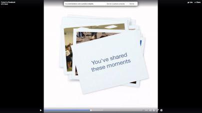 Facebook regala un 'vídeo de amistad' personalizado en su aniversario