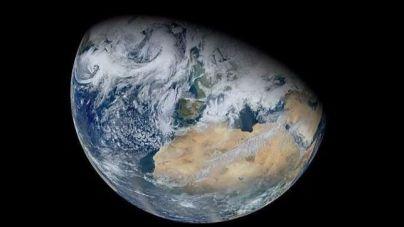 La Tierra parece no habitable desde el espacio