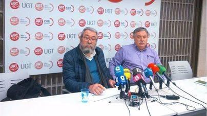 El secretario general de UGT, Cándido Méndez en Palma
