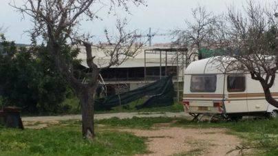 Imagen de la caravana en la que están los felinos