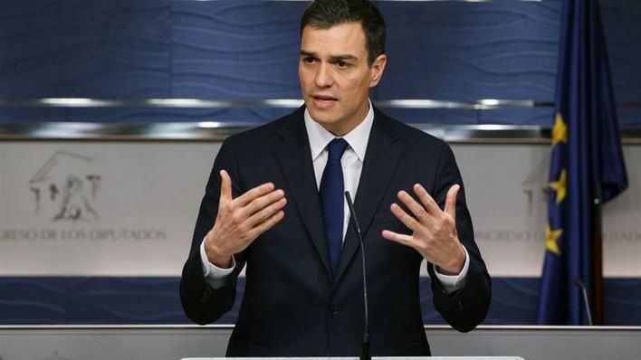 Sánchez propone a Rajoy una reunión este miércoles en el Congreso