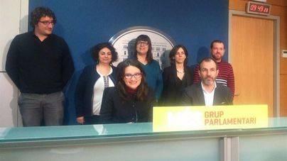 M�nica Oltra en Palma con el vicepresidente Biel Barcel�