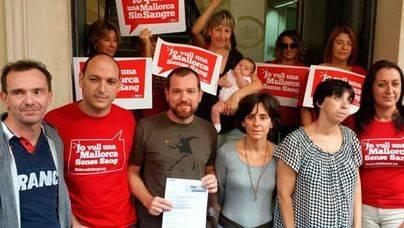 PSIB, M�s y Podem apoyan la reivindicaci�n de 'Mallorca sense Sang'