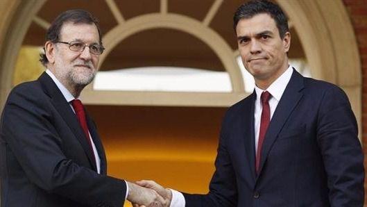 La reunión entre Rajoy y Sánchez será el viernes