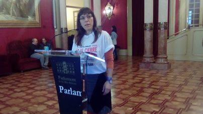 Laura Camargo, en el Parlament