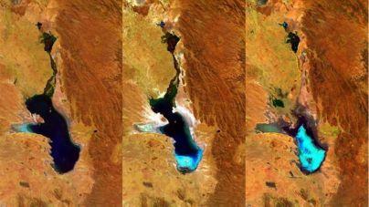 Desaparece el Poopó, el segundo mayor lago de Bolivia
