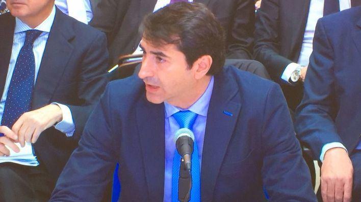 Gonzalo Bernal durante su declaración