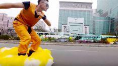 Un fan de Dragon Ball construye su propia nube Kinto