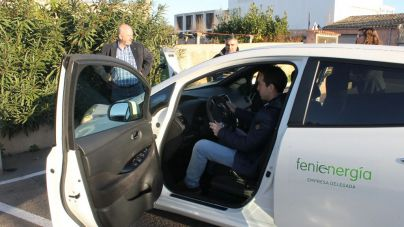 Santany� estrena 3 puntos de recarga para coches el�ctricos
