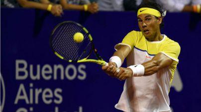 Nadal se estrena con victoria ante Mónaco en Buenos Aires