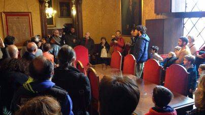 El Ajuntament de Palma cuelga el cartel de 'completo' en el primer día de puertas abiertas