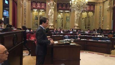 Intervención de Álvaro Gijón en el Parlament