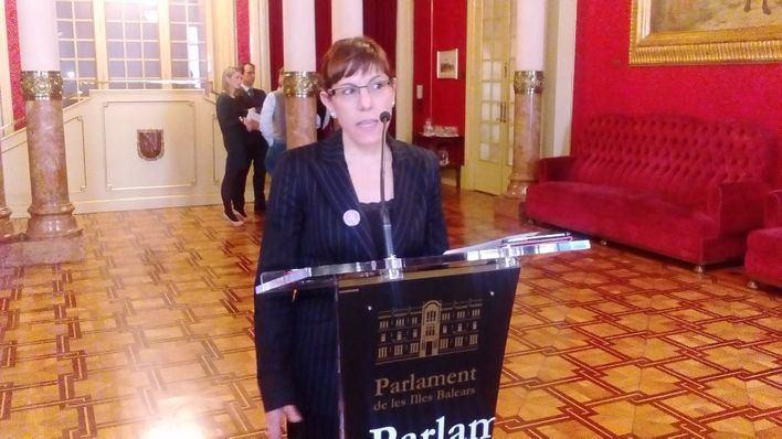 Laura Cmargo es la portavoz de Podem en el Parlament