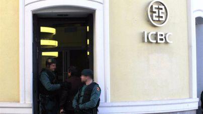 Operación contra el banco chino ICBC por blanqueo de capitales