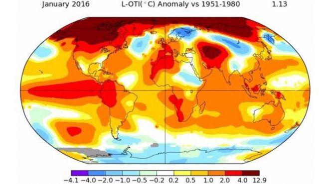 Este enero ha sido el más caluroso desde que hay registros