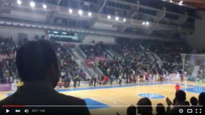 El último minuto de partido del Palma Futsal desde la grada