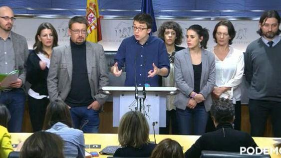 Podemos se levanta de la mesa de negociación con el PSOE