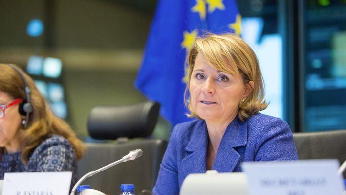 Imagen de la eurodiputada
