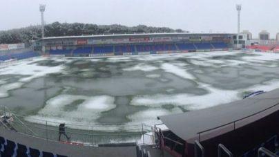 Suspendido el partido entre el Huesca y el Real Mallorca