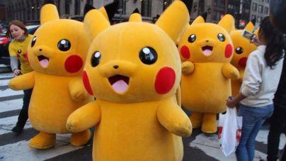 Un ejercito de Pokémon invade Manhattan