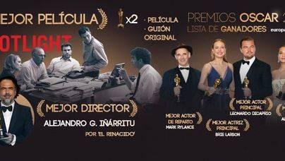 Spotlight, Iñárritu y DiCaprio se reparten la gloria