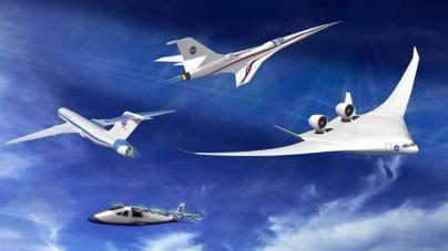 La NASA quiere revolucionar la aviación comercial