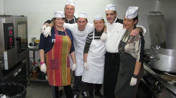 Rafa Genovard y Projecte Home elaboran un menú para más de 100 personas