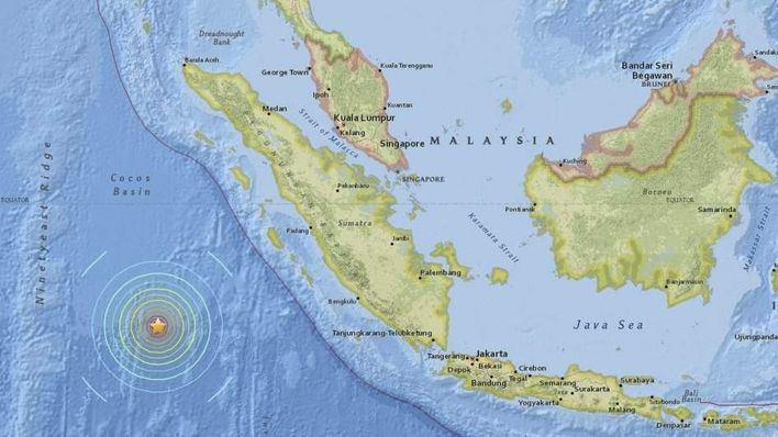 Varios muertos en Indonesia tras un terremoto de 7,9