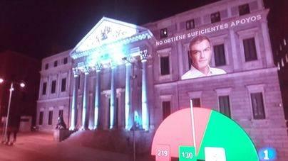 El Congreso rechaza la investidura de Pedro Sánchez