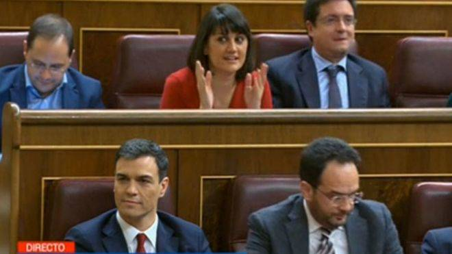 Pedro S�nchez fracasa en su segunda votaci�n de investidura