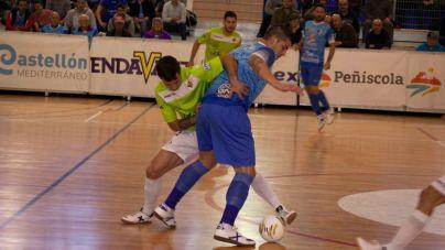El Palma Futsal sufre su primera derrota en 10 partidos ante el Peñíscola