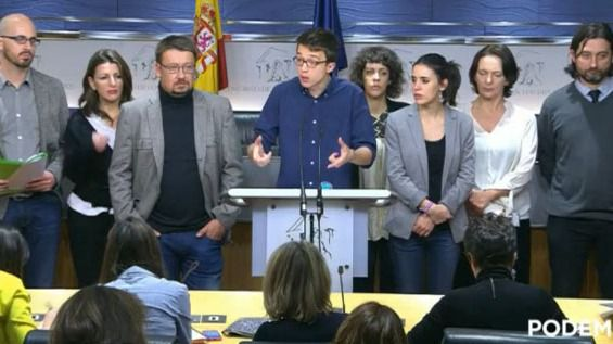Errejón opina que el PSOE está detrás de la