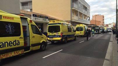 Emergències y Salut bendicen la gestión del accidente de El Molinar
