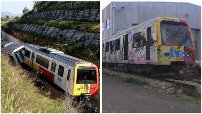 Nadie quiere encargarse del desguace del tren accidentado en Sineu en 2010