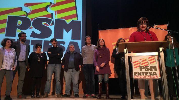 Bel Busquets toma las riendas del PSM-Entesa con el 98% de los votos