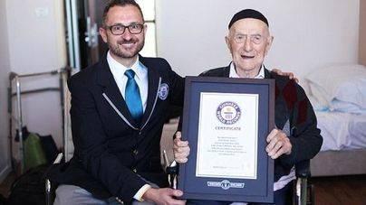 El hombre más viejo del mundo es un superviviente del Holocausto