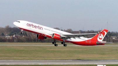 Air Berlin dará por cerrado su hub de Mallorca el 3 de abril