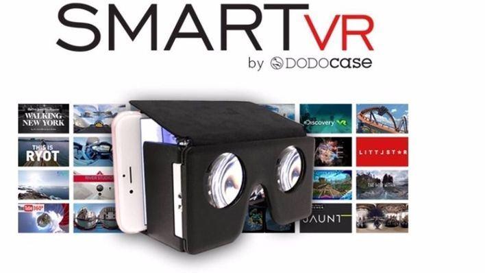 Llega el casco de realidad virtual plegable y de bolsillo