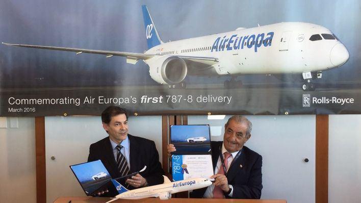 Air Europa adquiere un Boeing que consume y contamina un 20% menos