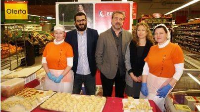 Cordero balear, 'panades' y rubiols, en Eroski por Pascua