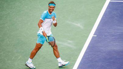 Nadal sufre ante Zverev pero ya está en cuartos de Indian Wells