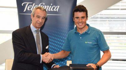 Telefónica tiende su mano al triatleta español Javier Gómez Noya