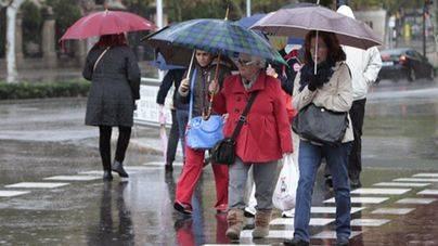Frío y lluvia en Semana Santa