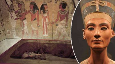 Nuevos indicios de que Nefertiti yace en la tumba de Tutankamon