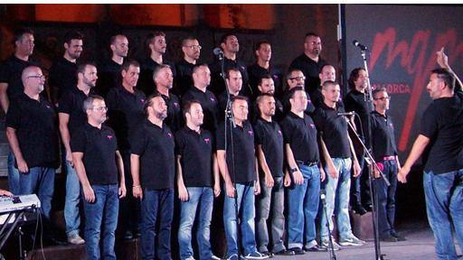 Mallorca Gay Men's Chorus canta a favor de Quíos