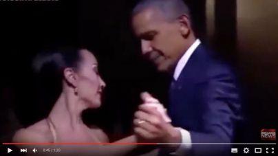 Obama se marca un tango en su visita a Argentina