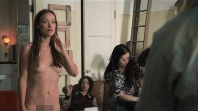 Falsificaciones desnudas de wilde de Olivia