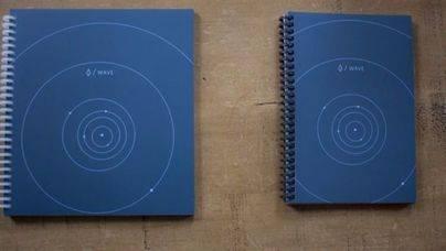 En el mercado un cuaderno que borra al meterlo en el microondas