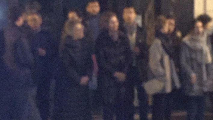 La reina Sofía se entrega a la Semana Santa palmesana